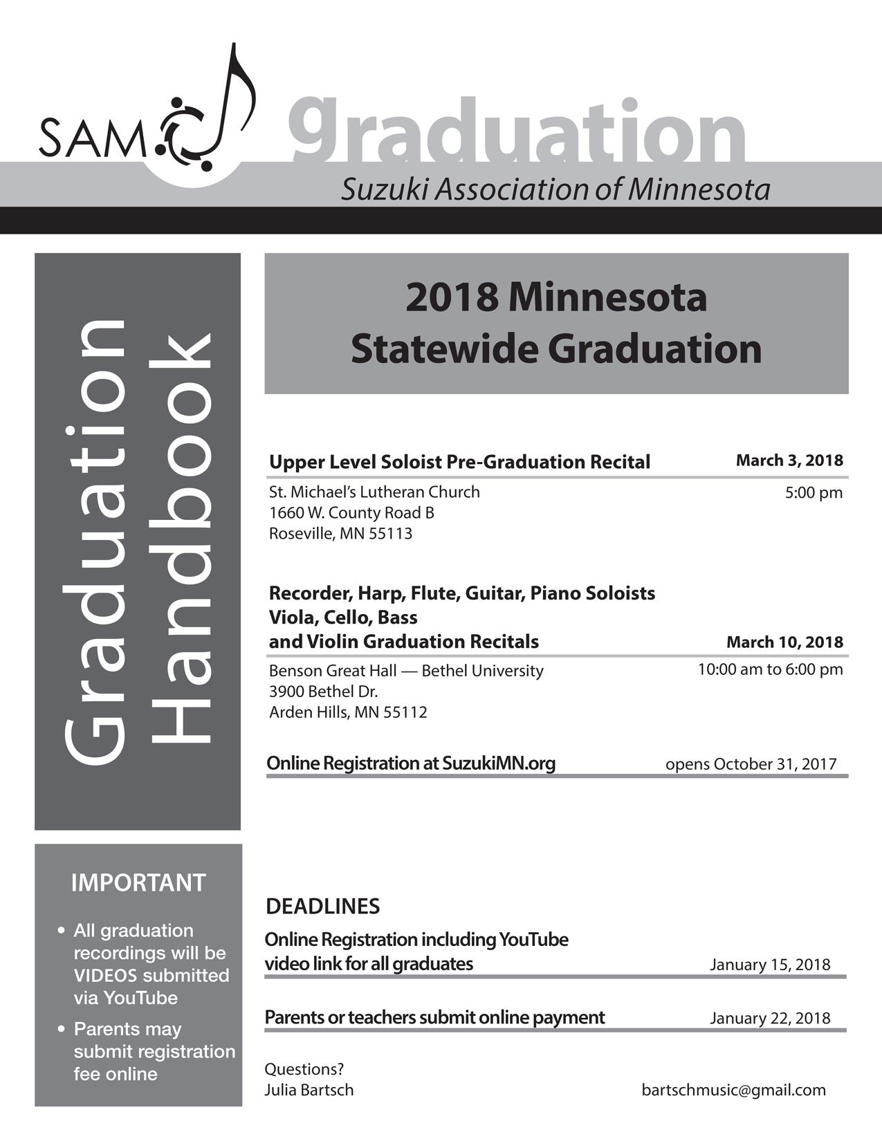 Graduation Handbook