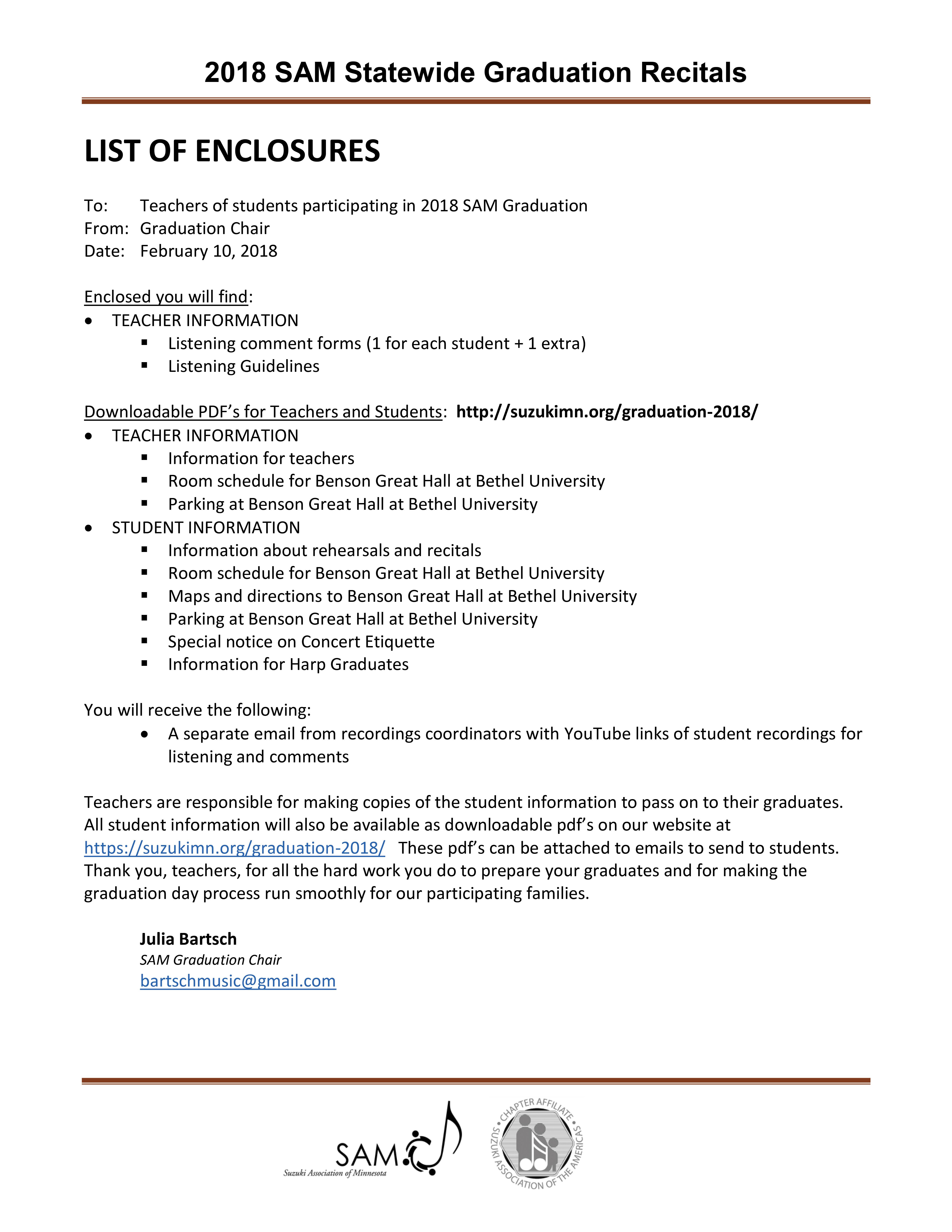 Teacher Enclosures